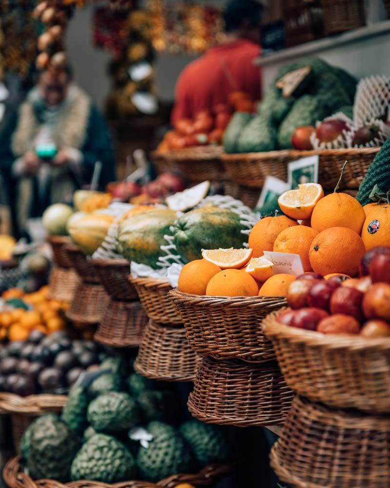 Frutas Ilha da Madeira