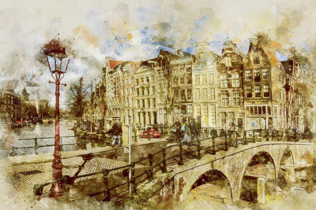Roteiro Amsterdam - Imagem de ArtTower