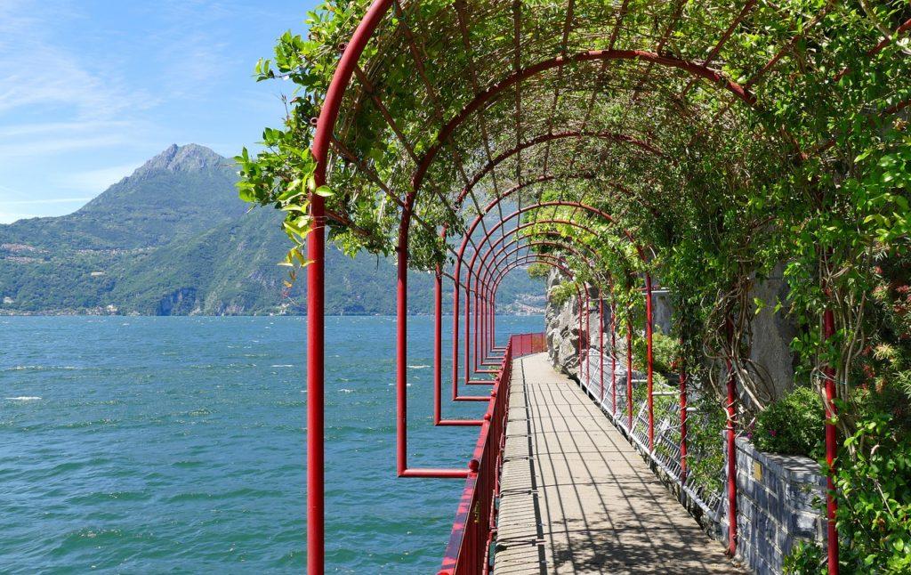 Um dos incríveis passeios em Varenna, Lago de Como na Itália