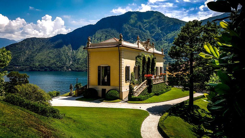 Villa Olmo na Lago de Como, incrível passeio