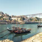 Ribeira do Douro na cidade de Vila Nova de Gaia
