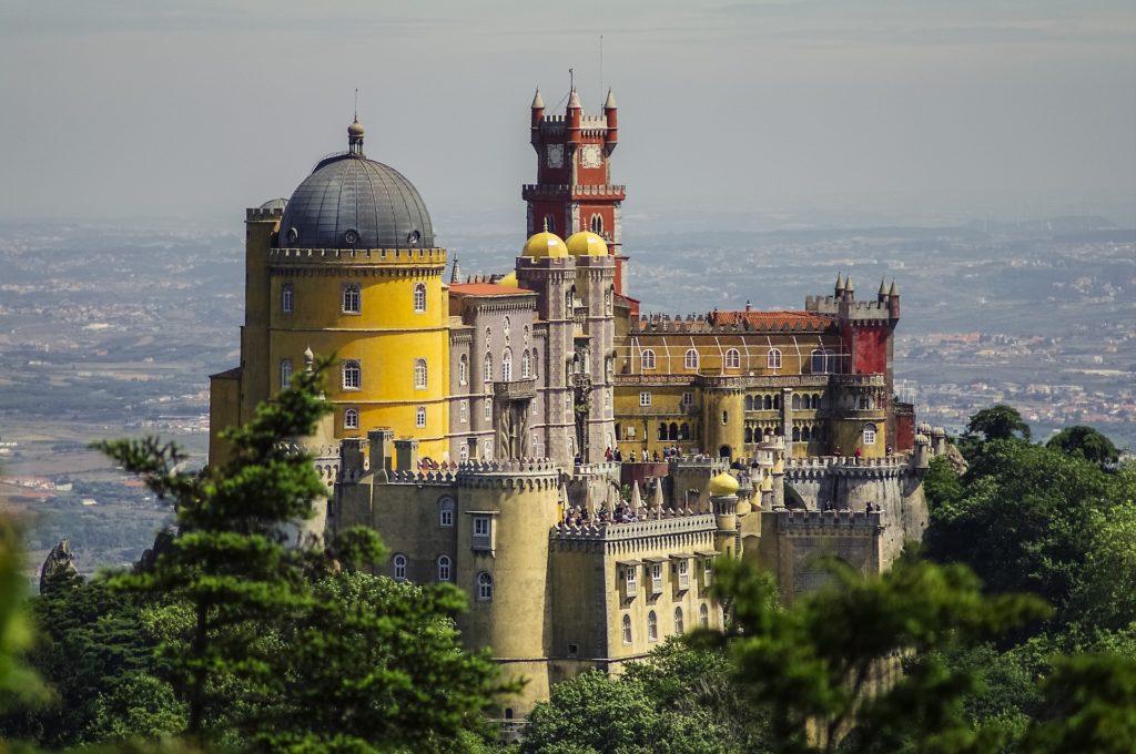 Palácio Nacional da Pena, Patrimônio Mundial da Humanidade pela UNESCO em Portugal