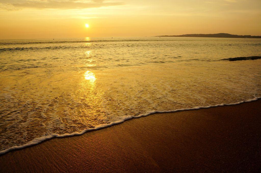 Praia em Pontevedra
