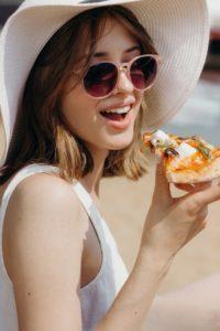 Uma pizza agrada a todos.