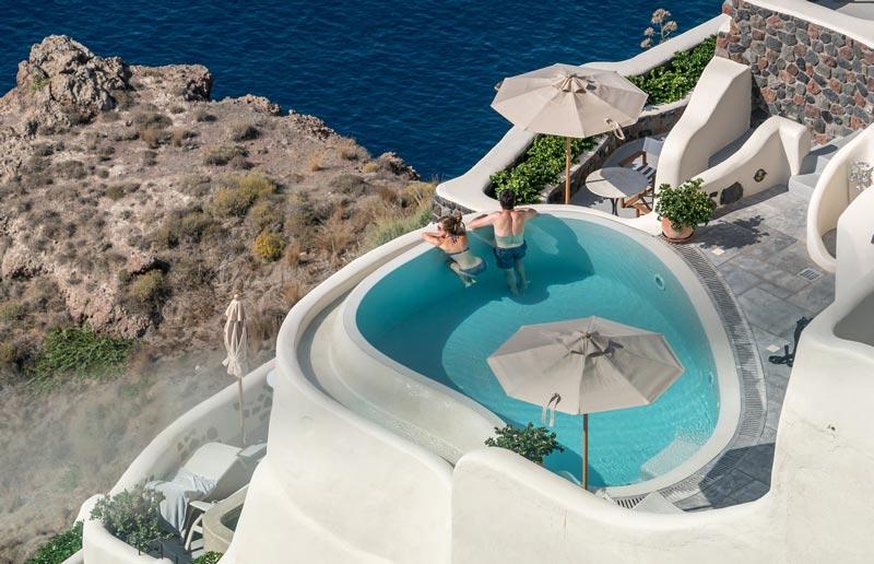 Acomodação em Santorini