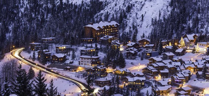Resorts nas montanhas