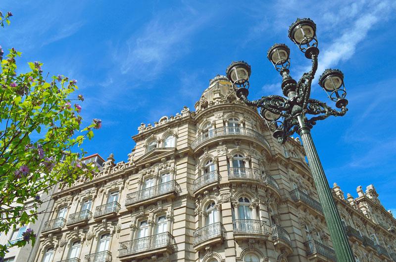 Vigo na Espanha