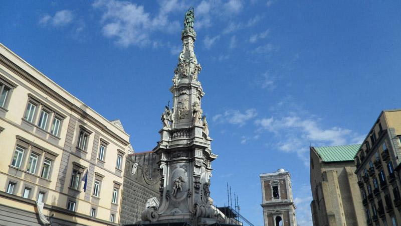 O Centro Histórico de Napoli