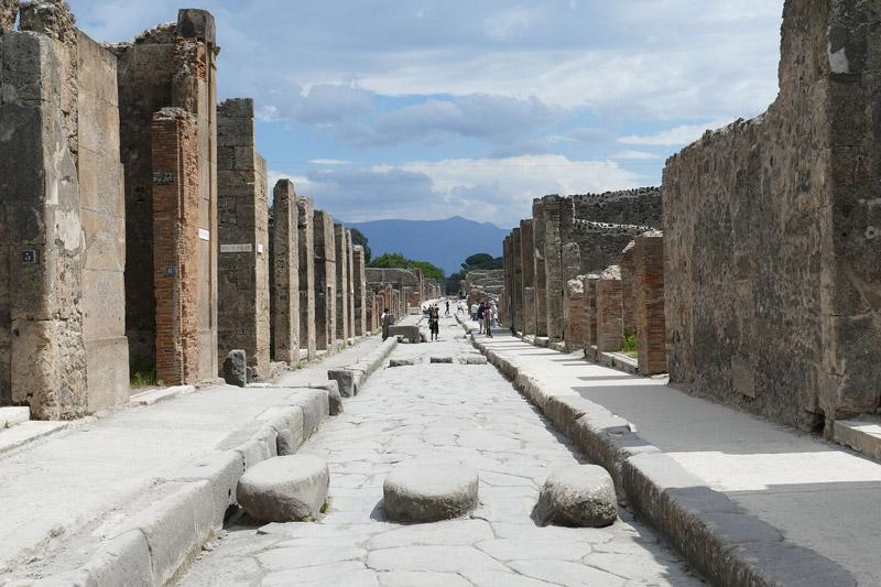 Pompeia, Napoli